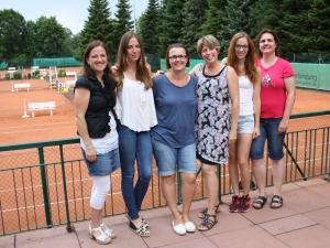 V.l.: Jacky, Saskia, Anja, Nadja, Ramona, Barbara