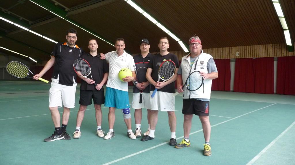 Von links: Stephan Herbst, Sven Arlt, Sascha Herbst, Bodo Barth, Jörg Arlt und Carsten Lau.